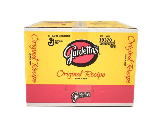 Gardettos Original Recipe Snacks Mix, 8.6 Ounce -- 12 per case.