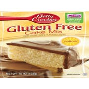 Betty Crocker Gluten Free Yellow Cake Mix, 15 Ounce -- 6 per case.