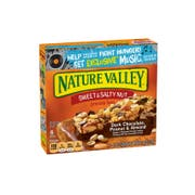 Nature Valley Sweet and Salty Nut Dark Chocolate Peanut Almond Snack Bar, 7.44 Ounce -- 12 per case.