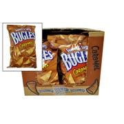 Bugles Sweet and Salty Caramel Crispy Corn Snacks, 6 Ounce -- 12 per case.