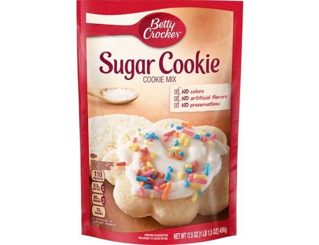 Betty Crocker Sugar Cookie Mix, 17.5 Ounce -- 12 per case.