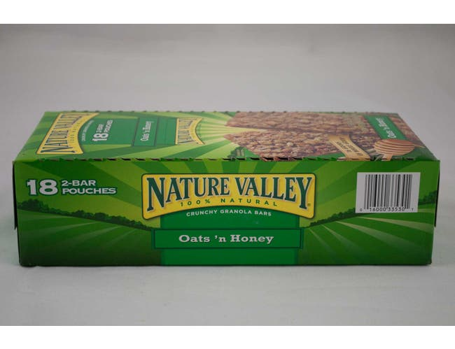 Nature Valley Oats N Honey Crunchy Granola Bar, 1.5 ounce -- 108 per case