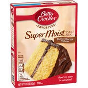 Betty Crocker Supermoist Butter Recipe Yellow Cake Mix, 15.25 Ounce -- 12 per case.