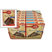 Betty Crocker Supermoist Chocolate Fudge Cake Mix, 15.25 Ounce -- 12 per case.