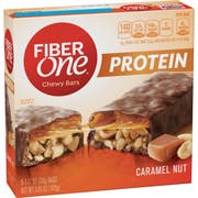 Fiber One Caramel Nut Chewy Protein Bar, 5.85 Ounce -- 12 per case.