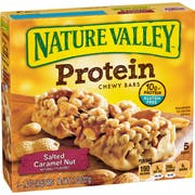 Nature Valley Salted Caramel Nut Protein Bar, 7.1 Ounce -- 12 per case.