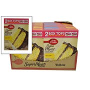 Betty Crocker SuperMoist Yellow Cake Mix, 15.25 Ounce -- 12 per case.