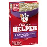 Chicken Helper Chicken Fettucini Alfredo Pasta, 8.7 Ounce -- 12 per case