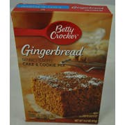 Betty Crocker Gingerbread Cake and Cookie Mix, 14.5 Ounce -- 12 per case