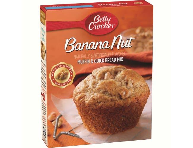 Betty Crocker Banana Nut Muffin/Quick Bread Mix, 12.3 Ounce -- 12 per case.