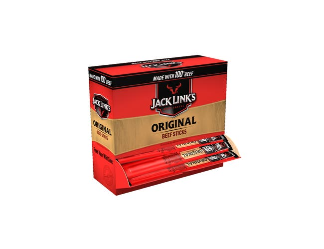 Jack Links Original Beef Stick, 0.5 Ounce -- 400 per case.