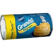 Pillsbury Grands Unbaked Biscuits, ButterTaste Flaky Layers, 16.3 Ounce -- 12 per case.