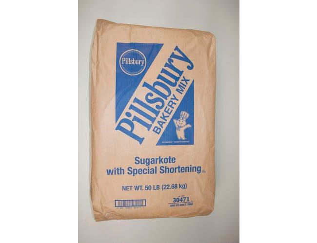 Pillsbury Sugarkote Donut Sugar Mix with Special Shortening, 50 Pound -- 1 each