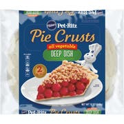 Pillsbury 9 inch Deep Dish All Vegetable Pie Shell, 2 count per pack -- 12 per case.