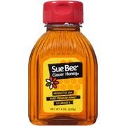 Sue Bee Honey Clover Honey Bottle, 8 Ounce -- 12 per case.