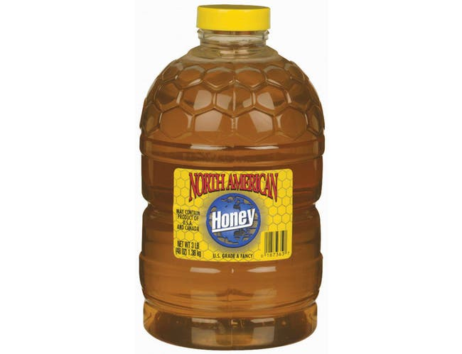 North American White Honey 6 Case 3 Pound