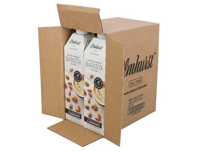 Elmhurst Milked Almond Barista, 32 Fluid Ounce -- 6 per case
