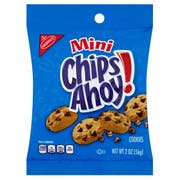 Cookie Chips Ahoy Snack Size 60 Case 2 Ounce