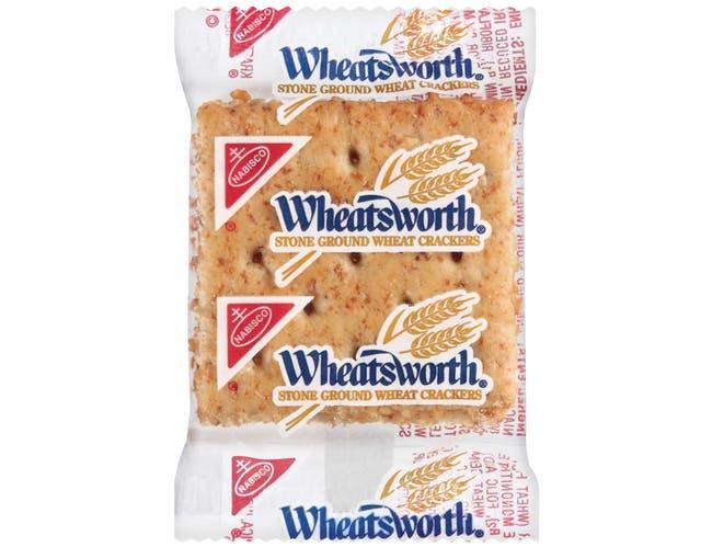 Wheatsworth Stone Ground Cracker - 0.22 oz. packet, 500 per case