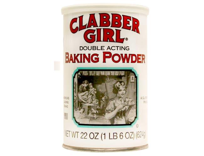 Clabber Girl Baking Powder, 22 Ounce -- 12 per case.
