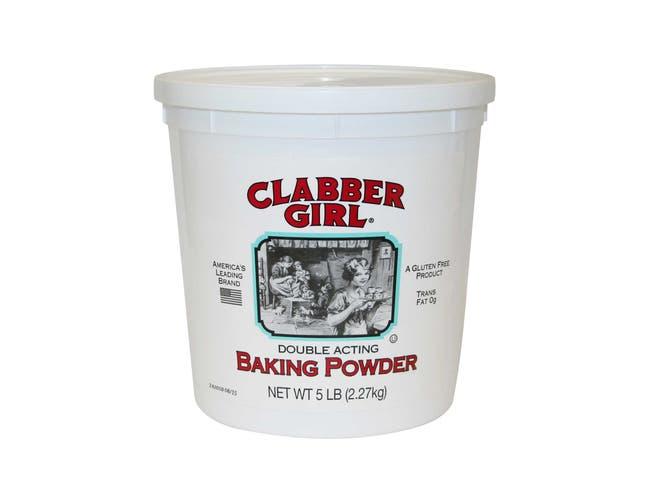 Baking Clabber Girl Powder 6 Case 5 Pound