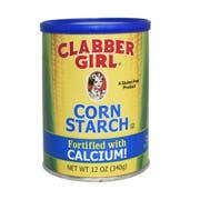 Clabber Girl Corn Starch, 12 Ounce -- 12 per case.