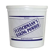 Clabber Girl Fleischmann Double Acting Baking Powder, 10 Pound -- 4 per case.