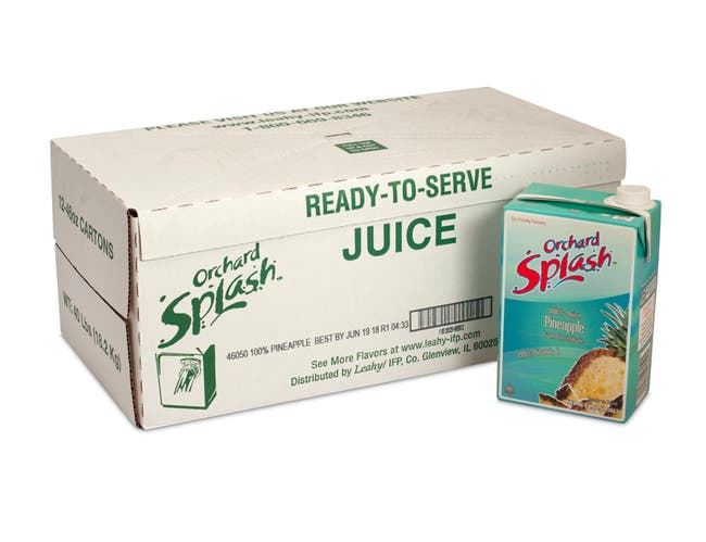100 Percent Pineapple Juice Ready To Serve 12 Case 46 Ounce
