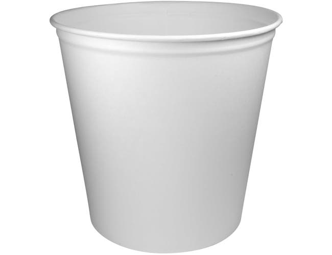 Solo Unprinted Untreated Paper Bucket, 165 Ounce -- 100 per case.