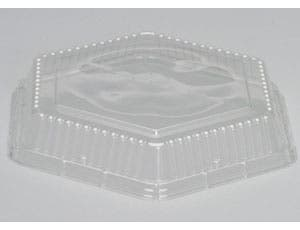 Genpak Clear Dome Lid Only, 10.56 x 1.78 inch -- 200 per case.