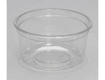 Genpak Clear Supermarket Container, 25 Ounce -- 300 per case.