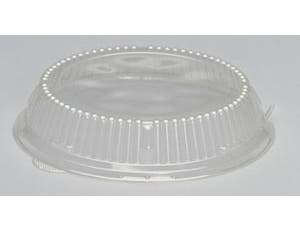 Genpak APET Dome Lid for All 9 inch Plates -- 200 per case.