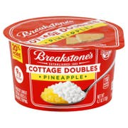 Breakstone's Cottage Doubles Pineapple Cottage Cheese, 4.7 Ounce -- 12 per case