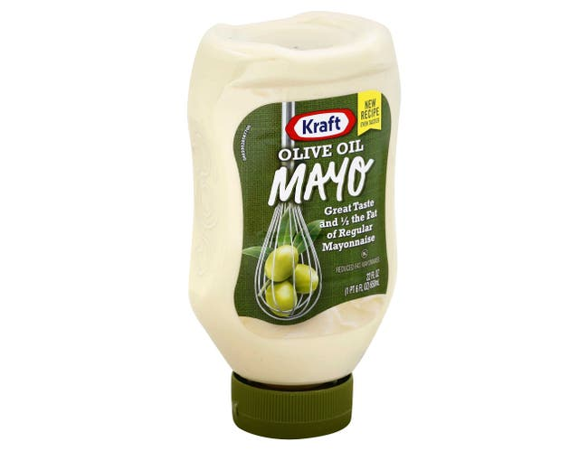 Kraft Spoonable Mayonnaise with Olive Oil, 22 Ounce -- 12 per case.