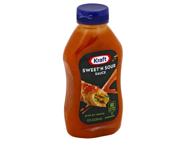 Kraft Specialty Spoonable Sweet and Sour Sauce, 12 Ounce -- 12 per case.