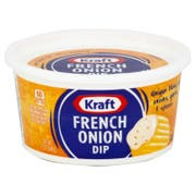Kraft Quality Cultured French Onion Dip, 12 Ounce -- 12 per case.