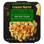 Cracker Barrel Sharp White Cheddar Macaroni and Cheese Liquid Dinner, 3.8 Ounce -- 8 per case.