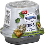 Philadelphia Single Serve Spinach and Artichoke Dip, 2.8 Ounce -- 6 per case