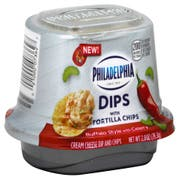 Philadelphia Single Serve Buffalo Style Dip, 2.8 Ounce -- 6 per case
