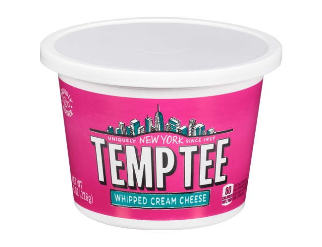 Breakstones Temptee Cream Cheese, 8 Ounce -- 12 per case.
