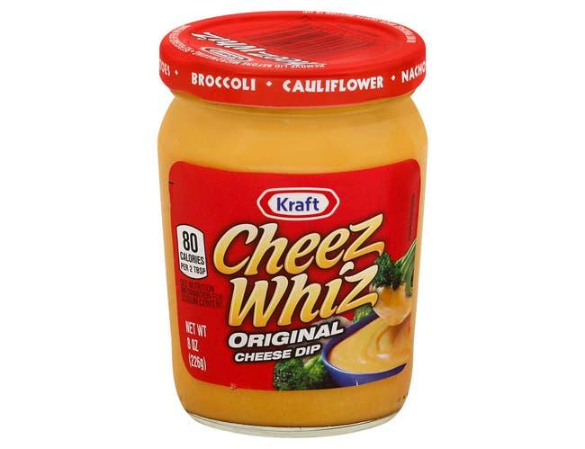 Kraft Cheez Whiz Original Plain Cheese Dip, 8 Ounce -- 12 per case