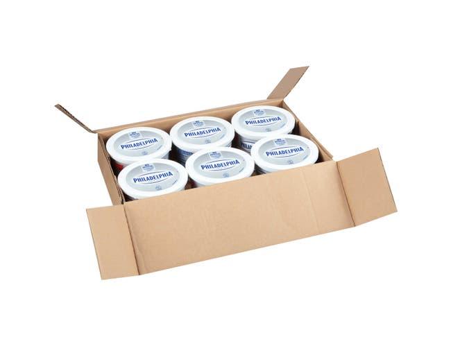 Philadelphia 3 Pound Cream Cheese Soft Tub Foodservice -- 6 per case.