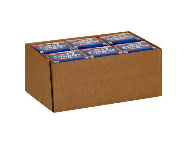 Kraft Singles American Sliced Cheese, 16 Ounce -- 12 per case.