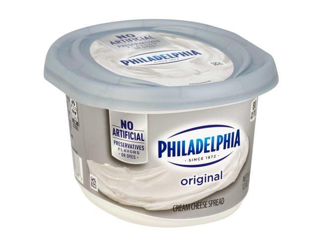 Philadelphia Regular Soft Cream Cheese Spread, 12 Ounce -- 12 per case.
