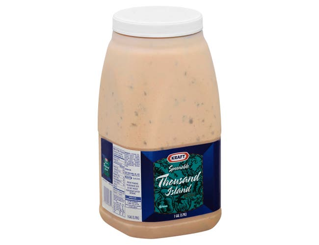 Dressing 1000 Island Spoonable 4 Case 1 Gallon