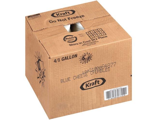 Kraft Crumble Blue Cheese Dressing, 1 Gallon -- 4 per case.