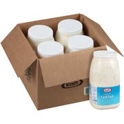 Kraft Creamy Tartar Sauce, 1 Gallon -- 4 per case