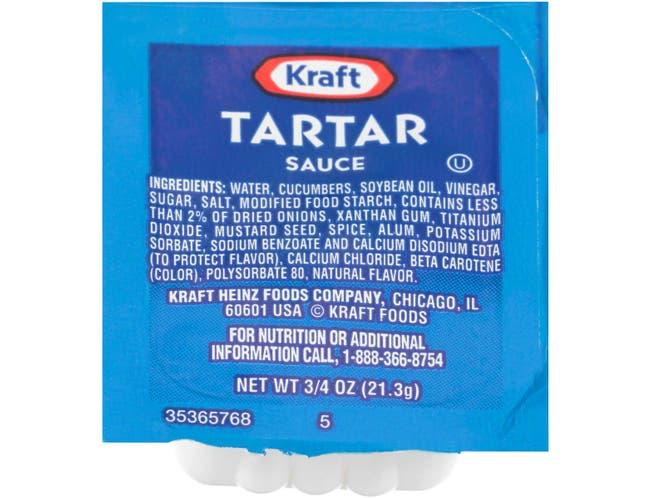 Tartar Sauce Cup -- 200 Count 3/4 Ounce
