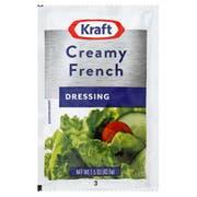 Kraft Single Serve Creamy French Salad Dressing, 1.5 Ounce -- 60 per case