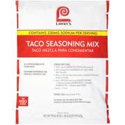 Lawry`s Taco Seasoning Mix, 22 oz. -- 6 per case